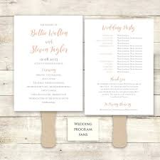 wedding program fan template template wedding programs fans template
