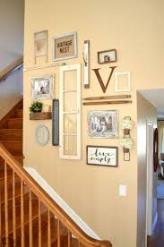 Staircase Wall Decorating Ideas Staircase Gallery Wall A Collection Of Vintage Treasures