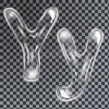 bubbles letters y vector illustration borys dyvyzyniuk
