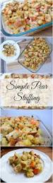 thanksgiving vegetarian stuffing simple pear stuffing earth powered family