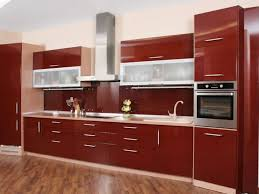 Kitchen Cabinets  High Gloss Cherry Ideas For Kitchen Cabinet - High kitchen cabinet