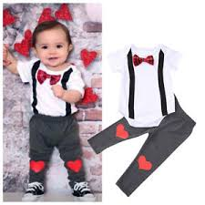 s day clothes s day toddler kids baby boy bow tie romper