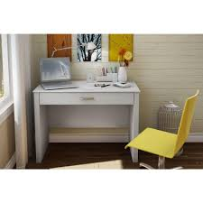 Secretary Desk Modern by South Shore Work Id Pure White Workstations 7050795 The Home Depot