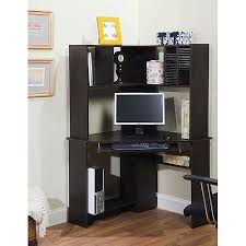 Small Black Corner Desk Corner Desk And Hutch Units Greatly Resemble Corner Armoire Desks