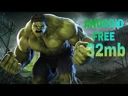 download incredible hulk 26 mb free android