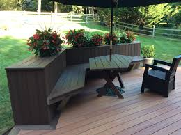 Bench For Balcony Bench Wooden Bench Planter Boxes Best Deck Benches Images