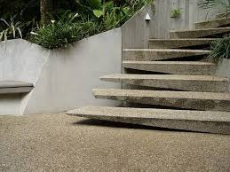 outer staircase models modern garden with outdoor concrete stair