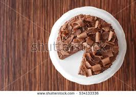 cake top delicious chocolate cake top view stock photo 534133336