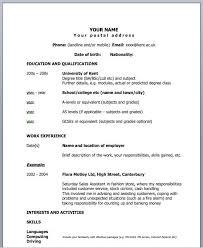 fine design one page resume template vibrant inspiration