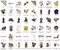 Harry Potter Designs Free Embroidery Designs