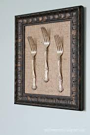 Dining Room Framed Art Only From Scratch Framed Silverware Tutorial U0026 Dining Room Updates