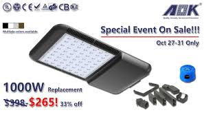 1000w replacement led parking lot lights on sale elaine yan