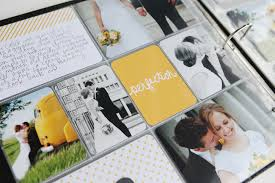 project wedding album project midnight edition wedding pages