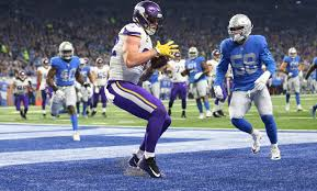 vikings start fast hold on to put away lions 30 23 on