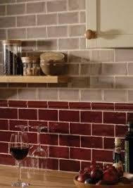 Red Tile Backsplash - red kitchen backsplash red tile backsplash adds zing to this