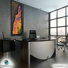 Used Office Furniture New Hampshire by New Hampshire Topography Map Physical Terrain U0026 Mountains