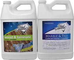 No Streak Laminate Floor Cleaner Amazon Com Black Diamond Wood U0026 Laminate Floor Cleaner 1 Gallon