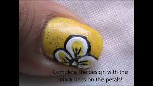 short nails nail art designs step by step at home youtube