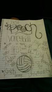 best 25 volleyball drawing ideas on pinterest volleyball