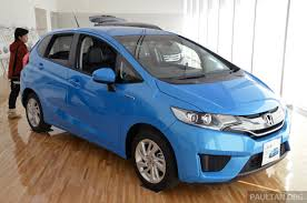 2014 honda jazz on trailer in malaysia