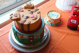 daniel tiger cake a side of cake my baby s 1st birthday