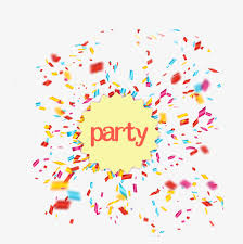 party confetti party confetti party shredder scrap confetti png and psd file