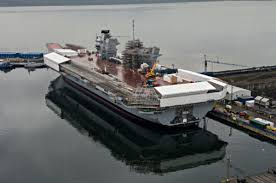 national audit office brit aircraft carrier project is fine and