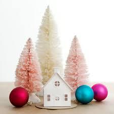 putz house diy ornament kit bungalow glitter house christmas