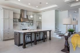 remodel kitchen island ideas transitional kitchen with flush flat panel cabinets kitchen