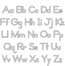 printable free alphabet coloring pages alphabet coloring pages