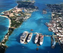 Bahama Islands Map Nassau New Providence Island Bahamas Cruise Ship Schedule