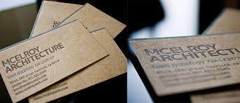 Eye Catching Business Cards Kraft Paper Business Cards 14 Eye Catching Examples Desgr Com