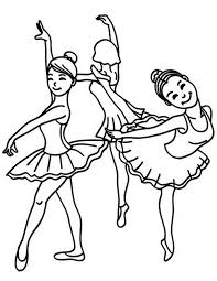 ballet dancer coloring pages coloring sky