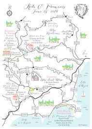 France Physical Map by Hand Drawn Wedding Maps U2014 Custom Map Design By Snappymap
