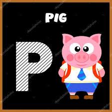 Imagenes En Ingles Con La Letra P | la letra p del alfabeto inglés vector de stock dicrafstman 55294379