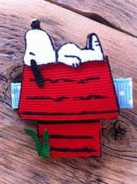 snoopy ribbon snoopy dog holding heart flowers comic inspired favorite
