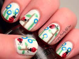 ladybug nails looking fancy nail art pinterest ladybug nails