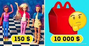 cuisine mcdo jouet 13 vieux jouets de mcdonald s qui coûtent jusqu à 100 fois plus