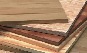 types of wood used in construction