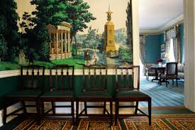 interior of a home the de blasios move into gracie mansion a home with a history of