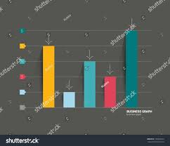 example business flat design graph on stock vector 190446674 example of business flat design graph on black background infographics chart