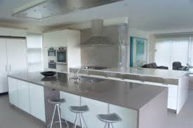 grey kitchen countertops with white cabinets white cabinets with gray countertops add depth to your