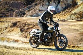 triumph motocross bike 2017 triumph scrambler first ride review revzilla