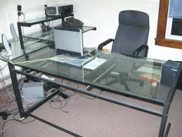 office max office desk glass l shaped office desk charming glass l shaped office desk 2 v l