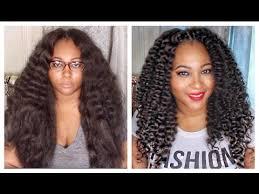 youtube crochet hairstyles on thinning hair curly crochet braids w kanekalon hair braid pattern