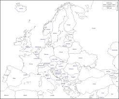 Map States Europe Free Map Free Blank Map Free Outline Map Free Base Map