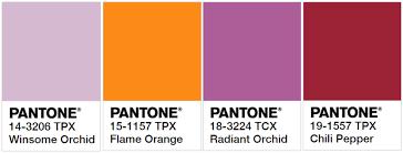 Color Palette Pantone Trend Report Fall Pantone Forecast Mood Sewciety