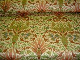 additional pictures of world linen fabrics birds of paradise color
