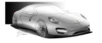 porsche concept sketch sketchs by luiz pitta at coroflot com