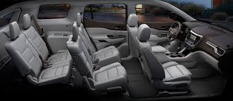 Most Interior Space Suv 2017 Acadia Mid Size Suv Gmc